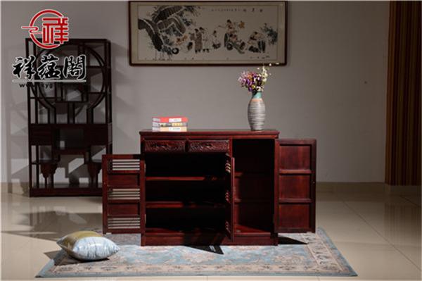 四门两抽红木储物柜价格及四门两抽红木储物柜图片欣赏