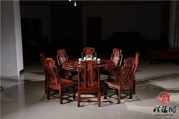2019红木餐桌和餐椅价格 红木餐桌和餐椅组合搭配