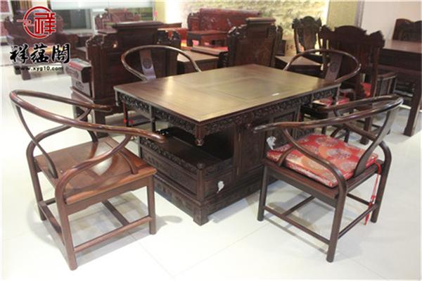 2019年红木茶桌椅椅什么价 红木茶桌椅椅的风水