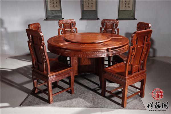 2019最新红木餐桌椅价格行情 红木餐桌椅图片大全