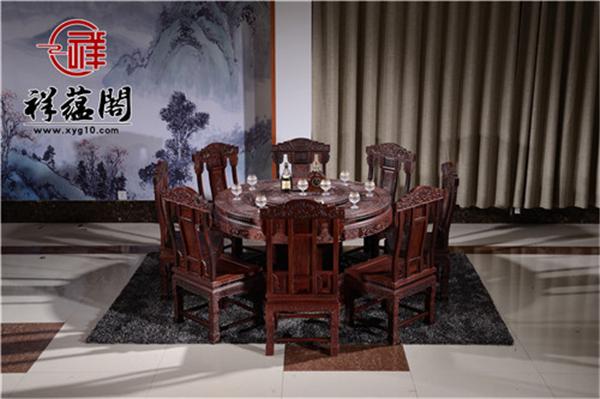 2019最新红木餐桌椅图片大全  红木餐桌椅的优点