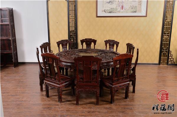 2019最新红木桌椅图片大全 红木桌椅分类