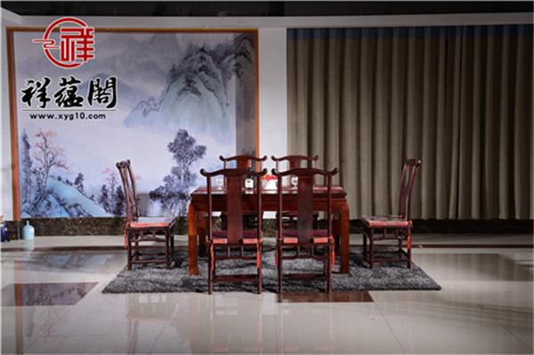 2019最新国色天香红木餐椅价格 国色天香红木餐椅尺寸