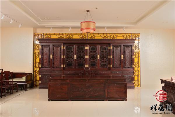 红木书柜常规尺寸一般都是多大的