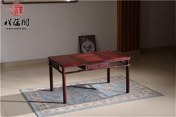 红木茶桌椅有什么好处 红木茶桌椅的保养
