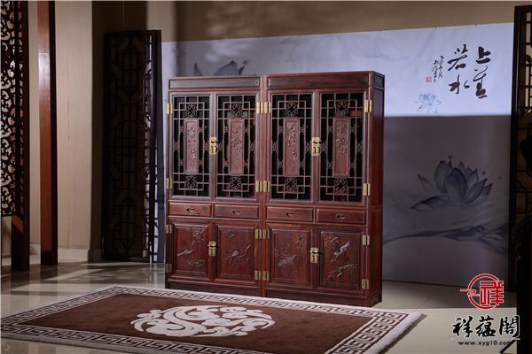 红木书柜的尺寸什么样的比较合适