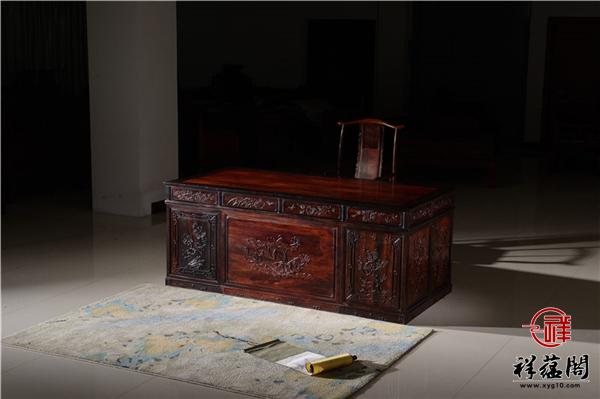 红木书桌画案是什么 红木书桌画案的特点