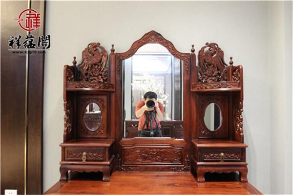 民国时期红木梳妆台价值多少 红木梳妆台摆放风水