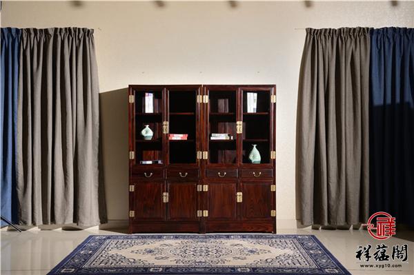 清式红木书柜的特点有哪些你知道吗