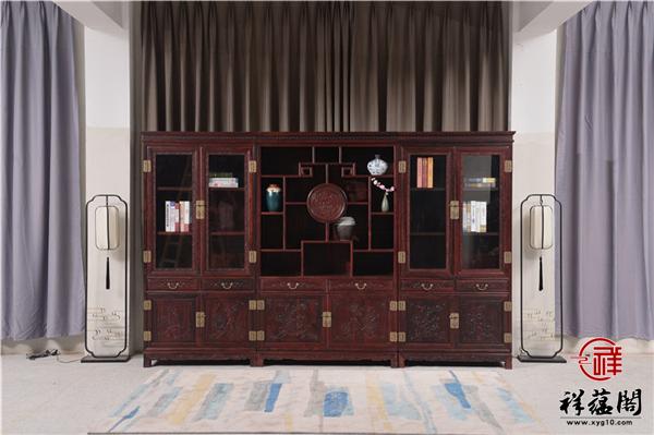 最受欢迎的红木书柜是哪种