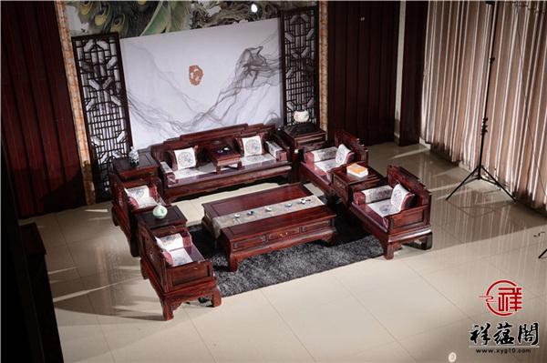 酸枝木红木沙发尺寸 酸枝木红木沙发图片欣赏