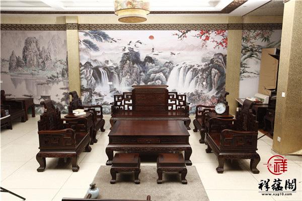 红木家具沙发一套价格表