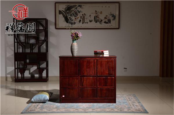 中式家装指南,红木鞋柜应该如何设计 让小细节完善家装细节