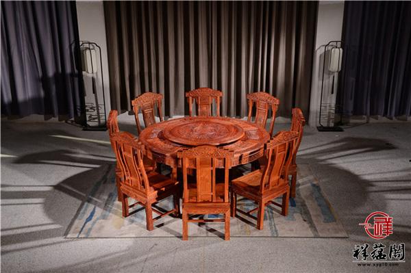 大果紫檀餐桌背后的秘密,你知多少