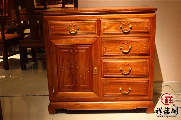 """红木家具中不可或缺的黄金""""配角""""——红木斗柜"""