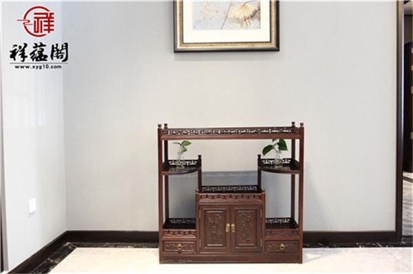 最新红木家具茶水柜款式大全