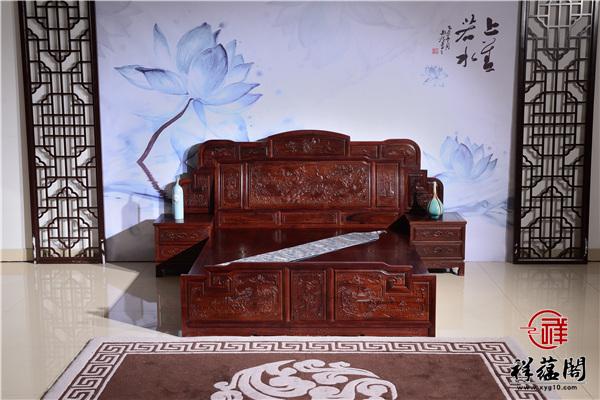 2019最新红木家具床款式价格表