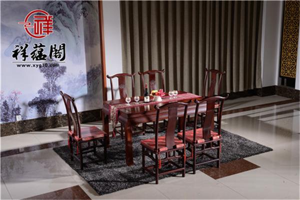 明清红木家具餐桌价格是多少