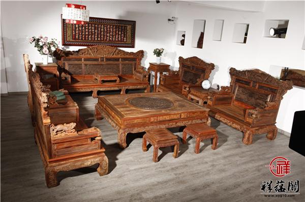 3分钟带你了解微凹黄檀红木家具