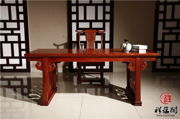 最新红木家具书桌款式图片大全