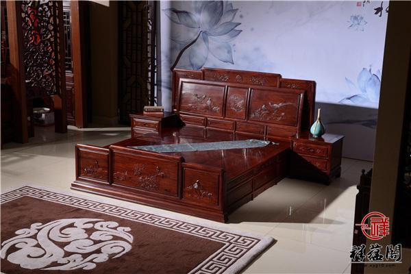 最新款红木家具床多少钱