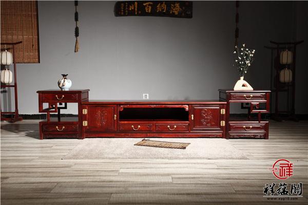 优质红木家具电视柜富贵价格是多少