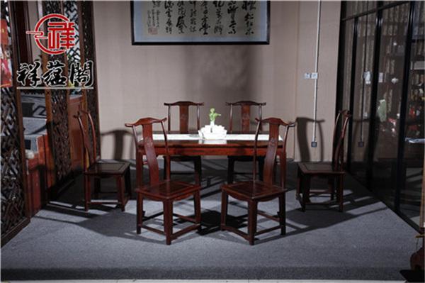 中式红木家具餐桌尺寸多大合适