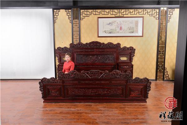 最新款红木家具床图片及价格趋势