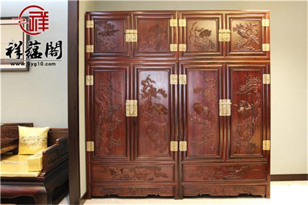 北京红木家具衣柜价格表