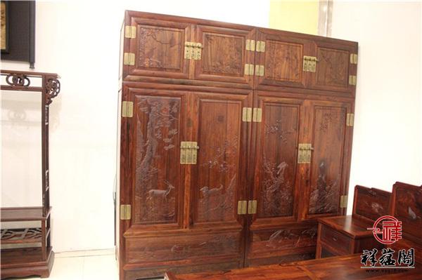 红木家具衣柜图片及价格是多少