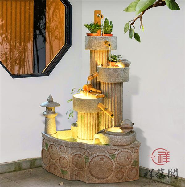 【室内假山喷泉】室内假山喷泉价格和作用