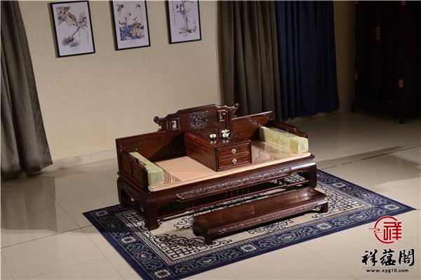 红木家具罗汉床的款式有哪些