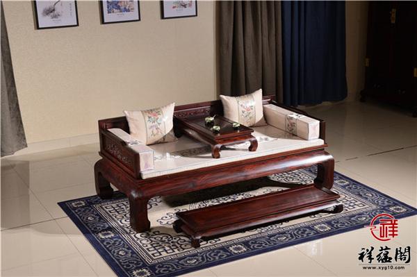 红木家具罗汉床价格多少钱