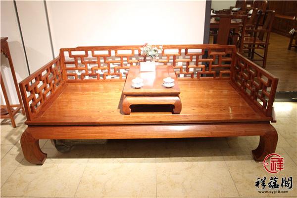 连天红红木家具罗汉床价格是多少