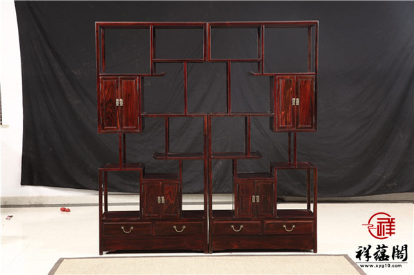 最新红木家具博古架款式图片大全
