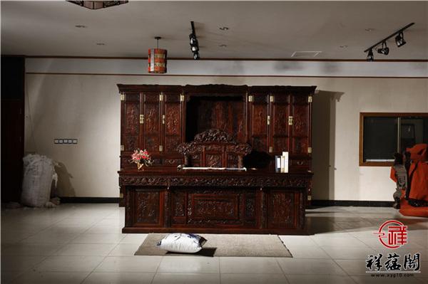红木家具书柜及书桌购买技巧