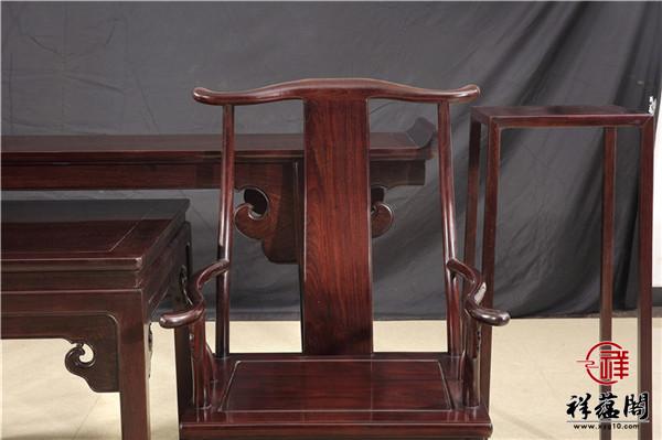 中堂红木家具布局图片图片