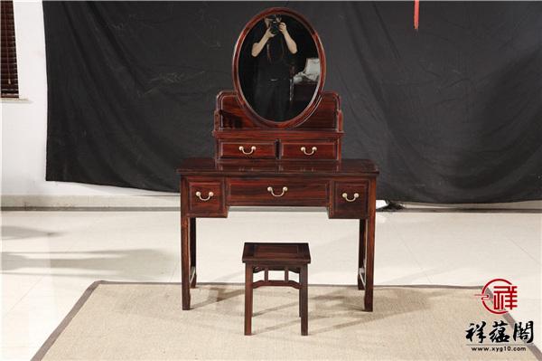 最新红木家具梳妆台款式图片大全