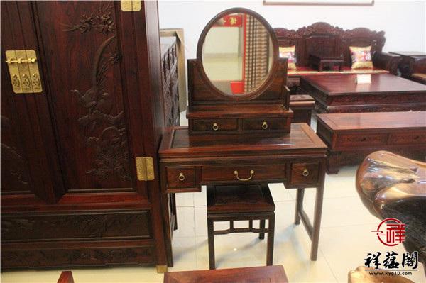 最新款红木家具梳妆台图片欣赏