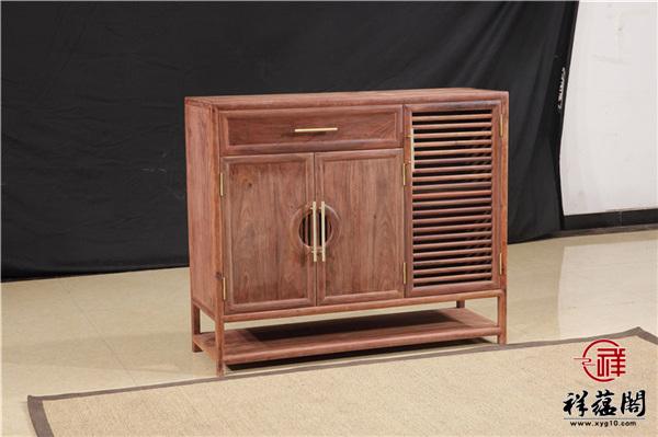 最新款红木家具鞋柜图片欣赏