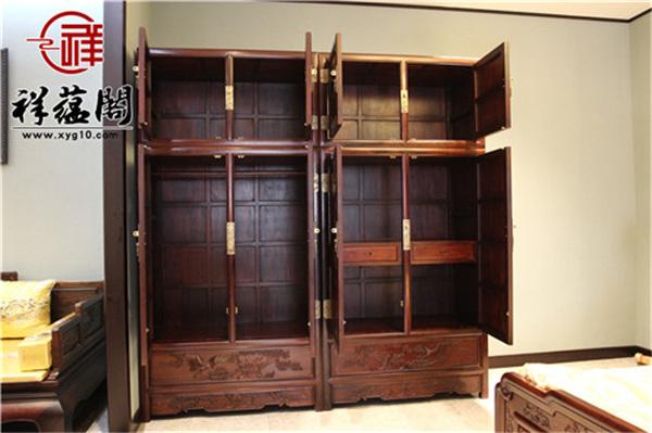 红木家具顶箱柜作胶图片欣赏