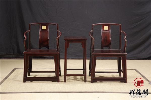 连天红红木家具圈椅多少钱