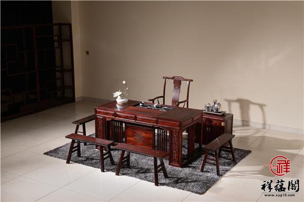王木匠红木家具茶桌有什么特点
