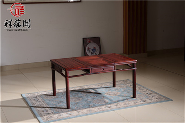 最新款红木家具茶桌图片大全