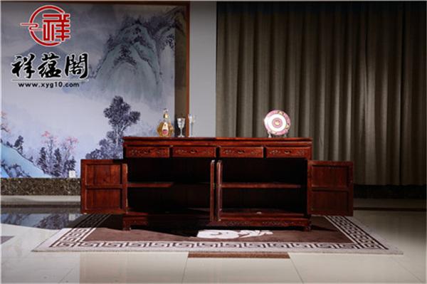 最新款红木家具餐边柜图片欣赏