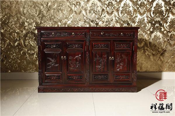 仿红木家具餐边柜价格是多少