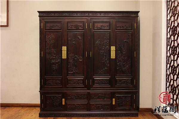最新款红木衣柜图片大全