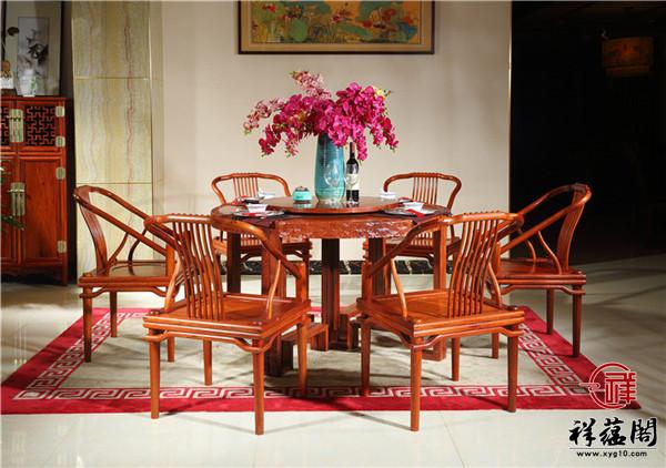 红木餐桌图片大全装修效果图