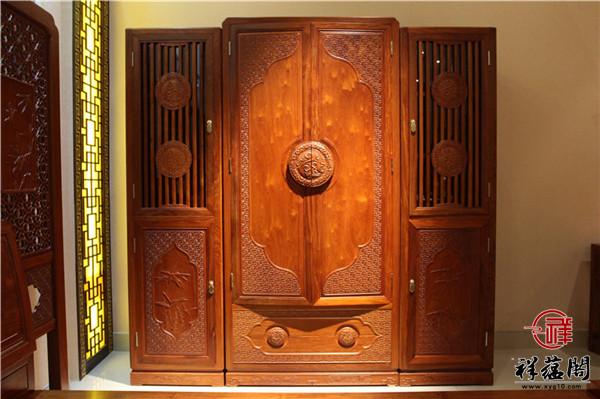 红木衣柜尺寸大全 红木衣柜有哪些款式尺寸