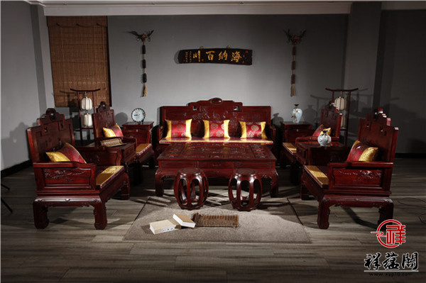 微凹黄檀红木家具图片及价格大全